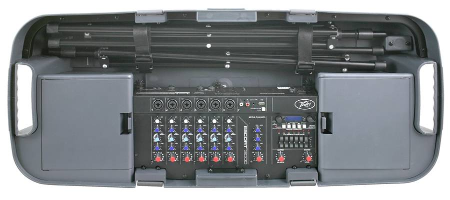 Peavey 03608880 ESCORT 3000 Portable PA System Product Image 4