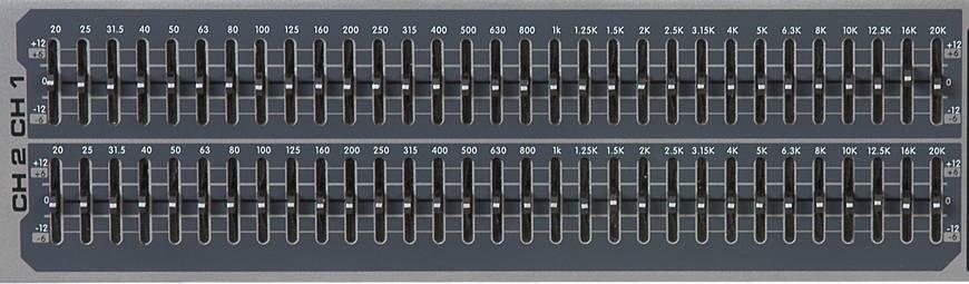 Peavey 03615360 PV 231EQ Dual 31 Band Equalizer Product Image 4