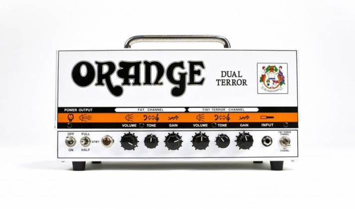 Orange DT30H Dual Terror 30W Twin Channel Guitar Amp Head Product Image 4