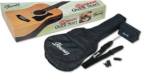 Ibanez V50NJP-VS Jampack Quick Start Acoustic Guitar Kit Product Image 4