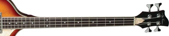 Jay Turser JTB-2B-VS Beatle Bass 4 String RH Acoustic Electric Bass Guitar Product Image 5