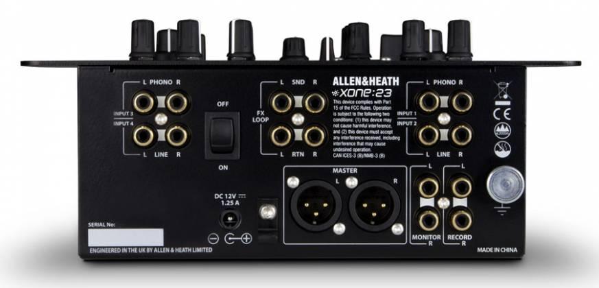Allen & Heath XONE:23 2plus2 Channel DJ Mixer Product Image 5