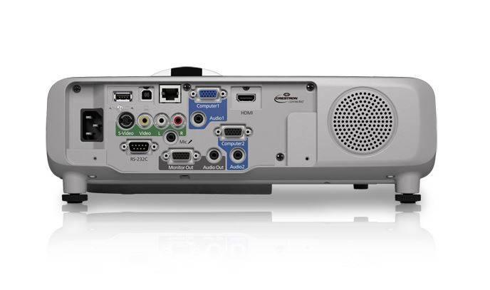Epson V11H673020 PowerLite 530 XGA 3LCD 3200 Lumens Short Throw Projector Product Image 4