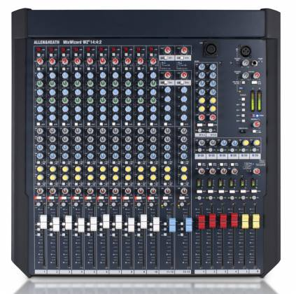 Allen & Heath W4-14 4 2 Mix Wizard Console with 10 Channel Inputs Product Image 4