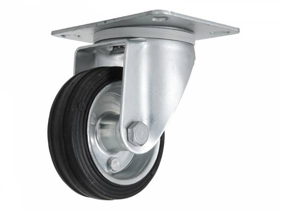 RCF AC PRO WHEELS 4 Swivel Caster Wheels Kit 4 Inch with Roller Bearings  Product Image 5