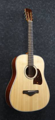 Ibanez AVD1-NT-d 6 String Artwood Vintage Acoustic Guitar with Dreadnought Body and Natural High Gloss Finish (discontinued clearance)  (Prior Year Model) Product Image 5