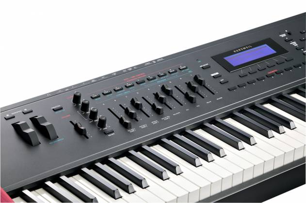kurzweil forte se 88 note fully weighted italian hammer action professional keyboard keyboards. Black Bedroom Furniture Sets. Home Design Ideas