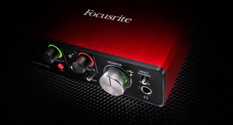Focusrite Scarlett Solo MK2 Next Generation Compact Durable USB Audio Interface Product Image 6