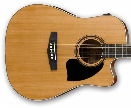 Ibanez PF17ECE-LG-d PF Series 6 String Acoustic Electric Guitar in Natural Low Gloss (discontinued clearance)  (Prior Year Model) Product Image 8