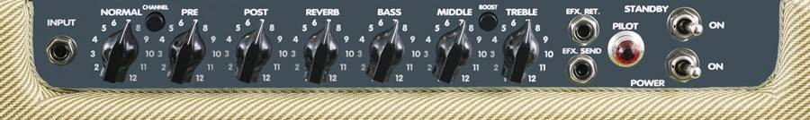 Peavey 03602930 CLASSIC 30/112 Tweed II Combo Amplifier Product Image 6