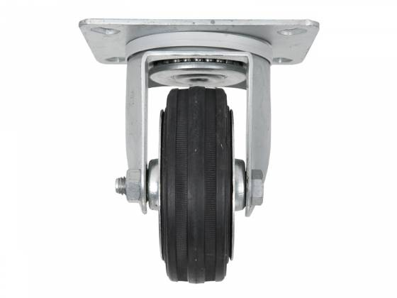RCF AC PRO WHEELS 4 Swivel Caster Wheels Kit 4 Inch with Roller Bearings  Product Image 6