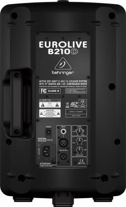 Behringer B210D Eurolive Active 200W 2-Way PA Speaker System Product Image 6