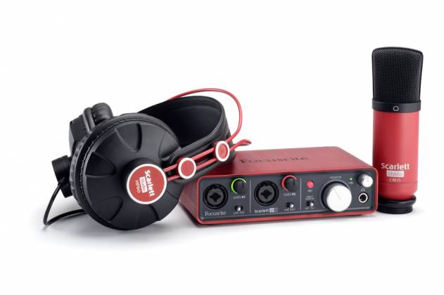 Focusrite Scarlett Studio Pack MK2 Next Generation Digital Audio Package with Scarlett 2i2 and Accessories Product Image 3