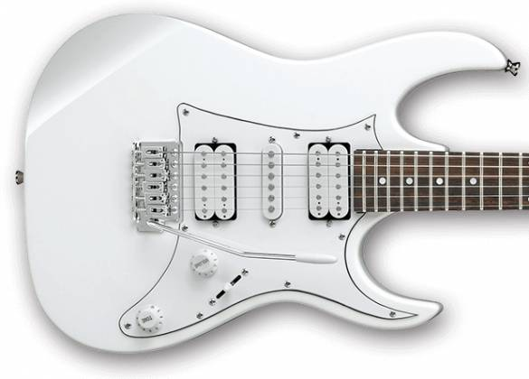 Ibanez GRX50-WH-d Gio RX Series 6 String Solid Body Electric Guitar in White (discontinued clearance)  (Prior Year Model) Product Image 3