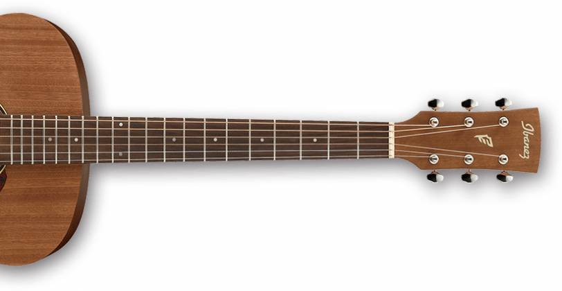 Ibanez PC12MH-OPN-d PF Series 6 String Acoustic Guitar in Open Pore Natural (discontinued clearance)  (Prior Year Model) Product Image 3