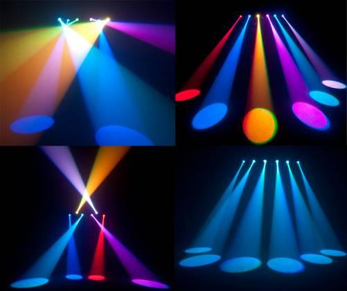 Chauvet DJ 6SPOT LED spot light bar with 6 3W Tri colour LEDs Product Image 3