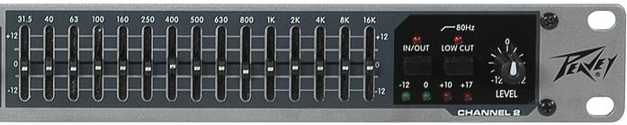 Peavey 03615350 PV 215EQ Dual Band Graphic Equalizer Product Image 7