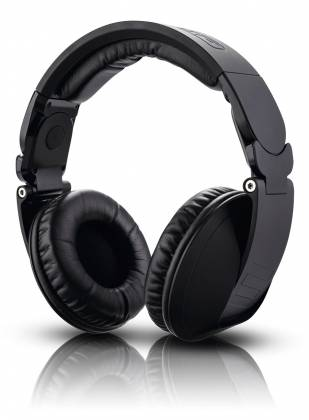 Reloop RHP-20-K Professional DJ Headphones with Rubber Paint Finish Knight Black rhp-20-k Product Image 6