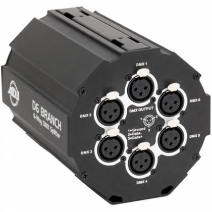 American DJ D6-BRANCH 6 Way DMX Splitter/Amplifier Product Image 2