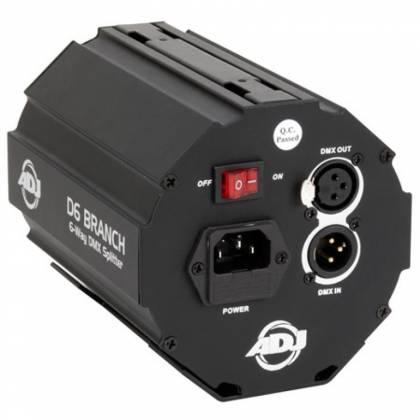 American DJ D6-BRANCH 6 Way DMX Splitter/Amplifier Product Image 3