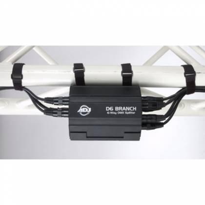 American DJ D6-BRANCH 6 Way DMX Splitter/Amplifier Product Image 4
