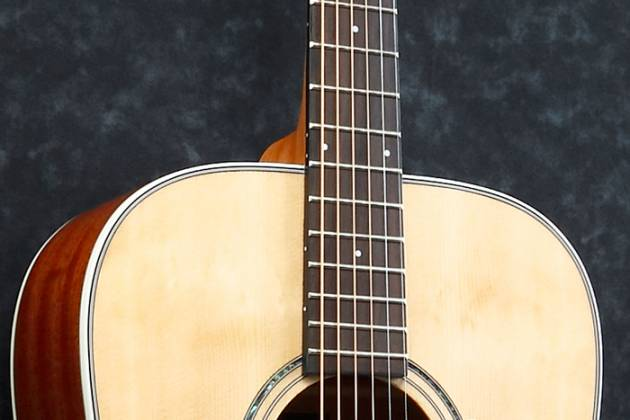 Ibanez AVD1-NT-d 6 String Artwood Vintage Acoustic Guitar with Dreadnought Body and Natural High Gloss Finish (discontinued clearance)  (Prior Year Model) Product Image 8