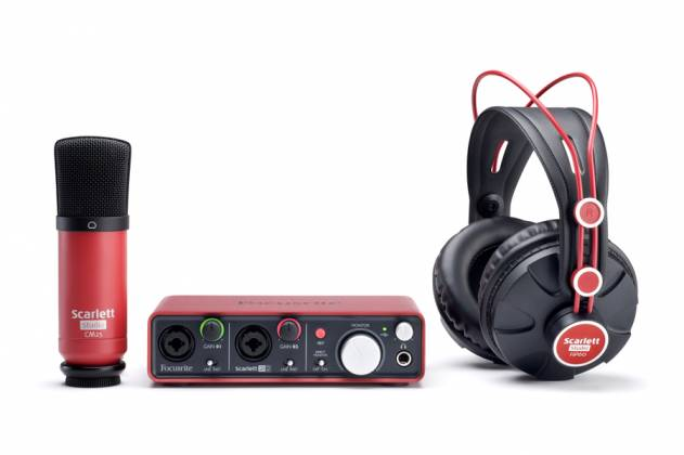 Focusrite Scarlett Studio Pack MK2 Next Generation Digital Audio Package with Scarlett 2i2 and Accessories Product Image 7