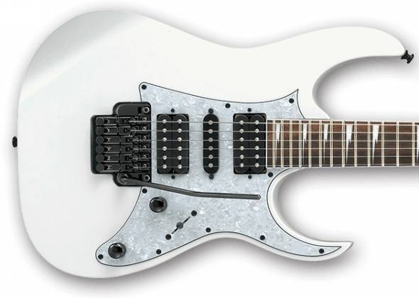 Ibanez RG350DXZ-WH-d RG Model 6 String Electric Guitar in White (discontinued clearance)  (Prior Year Model) Product Image 5