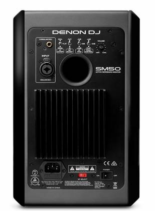 Denon DJ SM50 90W Active Reference Monitor with Free isolation pad (discontinued clearance) Product Image 4