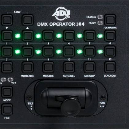 American DJ DMX-Operator-384 - 384 Channel DMX Controller -12x32 w/30 Banks/240 Scenes Product Image 4