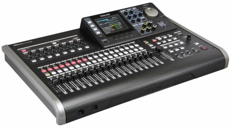 Tascam DP-24SD Digital Portastudio 24 Track Recording Workstation and Mixer dp-24-sd Product Image 2