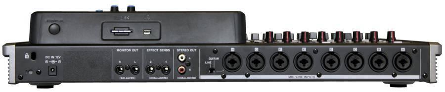 Tascam DP-24SD Digital Portastudio 24 Track Recording Workstation and Mixer dp-24-sd Product Image 3