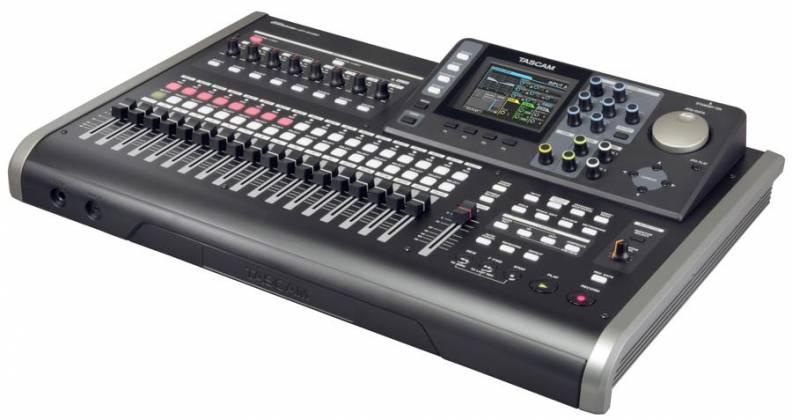Tascam DP-24SD Digital Portastudio 24 Track Recording Workstation and Mixer dp-24-sd Product Image 4