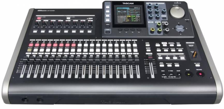 Tascam DP-24SD Digital Portastudio 24 Track Recording Workstation and Mixer dp-24-sd Product Image 5