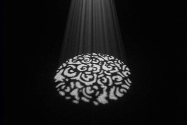 Chauvet DJ EZ Gobo LED Battery Powered Gobo Projector Product Image 3