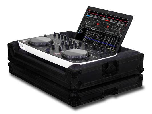 Odyssey FRERGOBL Black Label Flight Ready Case for Pioneer DDJ-ERGO with Laptop Storage Compartment Product Image 2