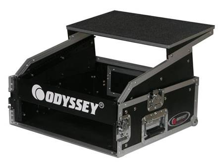 Odyssey FRGS802 Flight Ready Glide Style 8 Space x 2 Space Combo Rack Product Image 4