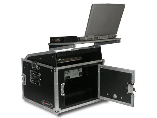 Odyssey FRGS806 Flight Ready Glide Style 8 Space x 6 Space Combo Rack Case Product Image 3