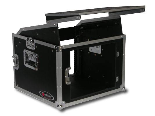 Odyssey FRGS806 Flight Ready Glide Style 8 Space x 6 Space Combo Rack Case Product Image 5