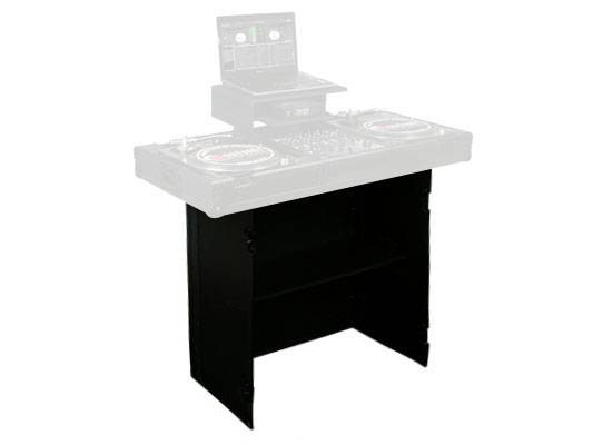 """Odyssey FZF3336BL Black Label Fold-Out Stand 33"""" Wide x 36"""" High with Shelf Product Image 2"""