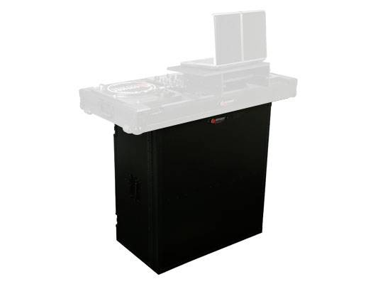 """Odyssey FZF3336BL Black Label Fold-Out Stand 33"""" Wide x 36"""" High with Shelf Product Image 4"""