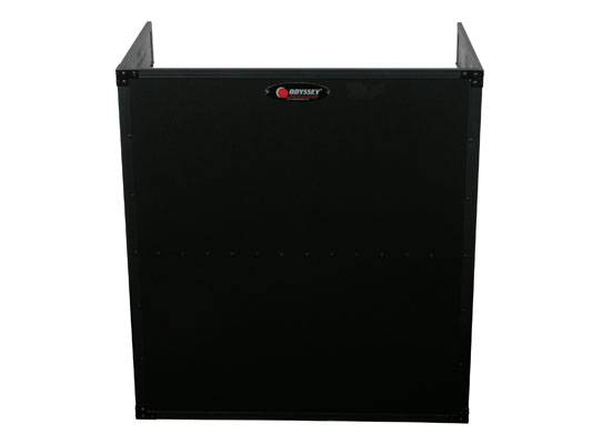 """Odyssey FZF3336BL Black Label Fold-Out Stand 33"""" Wide x 36"""" High with Shelf Product Image 5"""