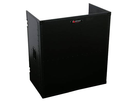 """Odyssey FZF3336BL Black Label Fold-Out Stand 33"""" Wide x 36"""" High with Shelf Product Image 6"""