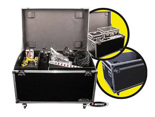 Odyssey FZUT2W Flight Zone Utility Trunk Touring Case with Organizing Trays and Dividers Product Image 4