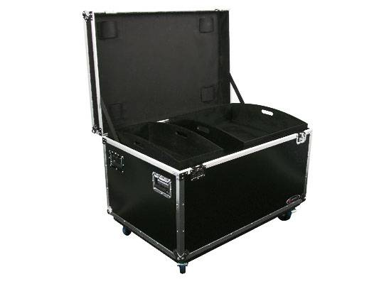 Odyssey FZUT2W Flight Zone Utility Trunk Touring Case with Organizing Trays and Dividers Product Image 2