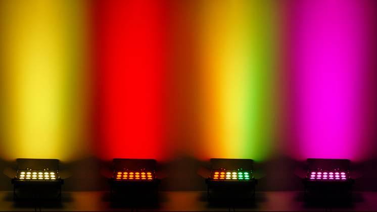 Chauvet DJ SlimBANK T18 USB 18x3W RGB Panel Wash Light with D-Fi USB  Compatibility for Wireless Control