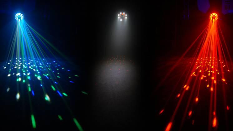Chauvet DJ SWARM 5FX LED Effect Laser RGBAW Product Image 10