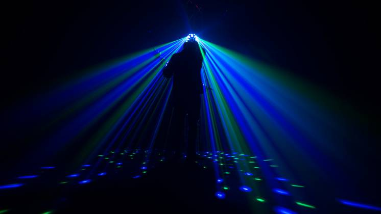 Chauvet DJ Swarm Wash FX Multi Effects Light with Derby, RGB+UV Wash, Laser, and Strobe Lights (clearance - open box - mint condition)) Product Image 6