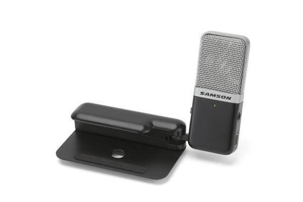 Samson GOMICB Portable USB Condenser Microphone in Black Casing Product Image 6