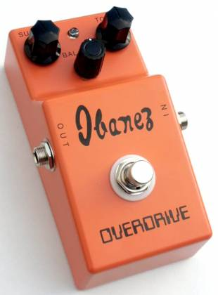 Ibanez OD850-d Vintage Pre-Tube Screamer Overdrive Pedal (discontinued clearance) Product Image 2